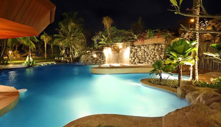 Bali Mandira Beach Resort & Spa Bali - Waterfall-Jacuzzi-Pool