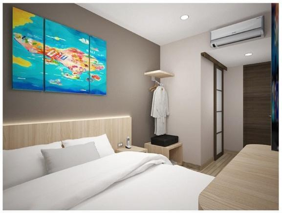 Central Front One Inn Airport Jakarta Tangerang - Guest room