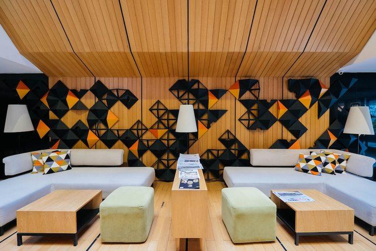 Namin Dago Hotel Bandung - Interior Entrance