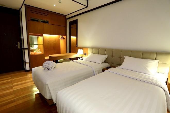 Namin Dago Hotel Bandung - Kamar tempat tidur Twin