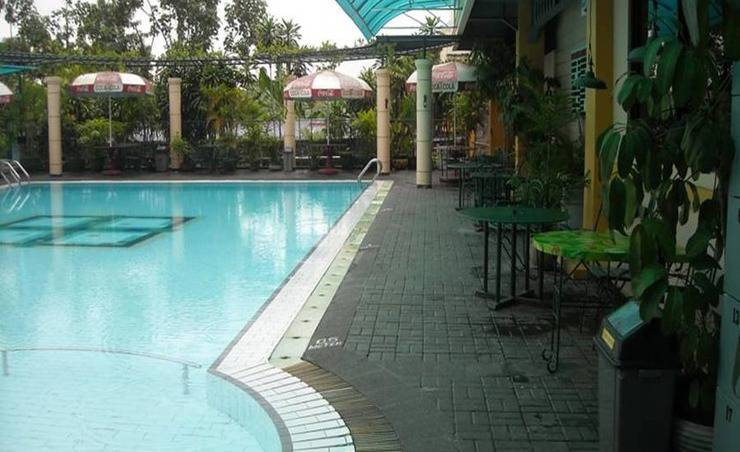 Hotel Agas Internasional Solo - Kolam Renang