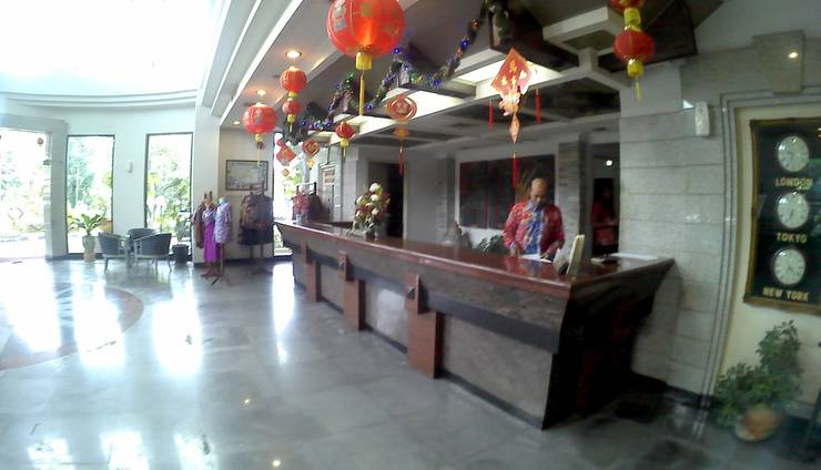Hotel Agas Internasional Solo - Resepsionis