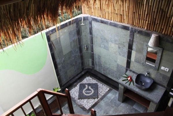 Dream Beach Kubu Lembongan - Kamar mandi terbuka