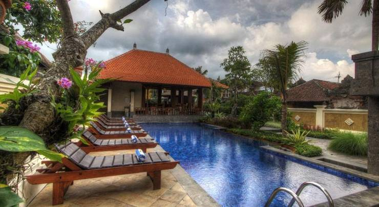Inata Monkey Forest Bali - Kolam Renang