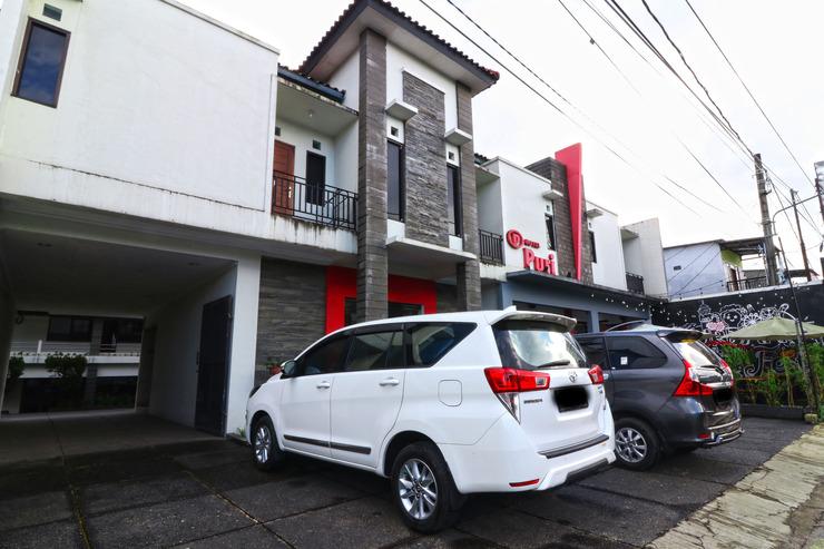 Hotel Puri Pangalengan Bandung - Parkir