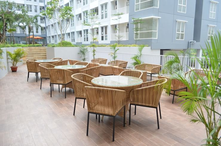 Kyriad Hotel Airport Jakarta - Terrace/Patio