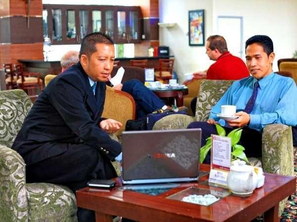 Adika Hotel Bahtera Balikpapan - Hot Spot Area