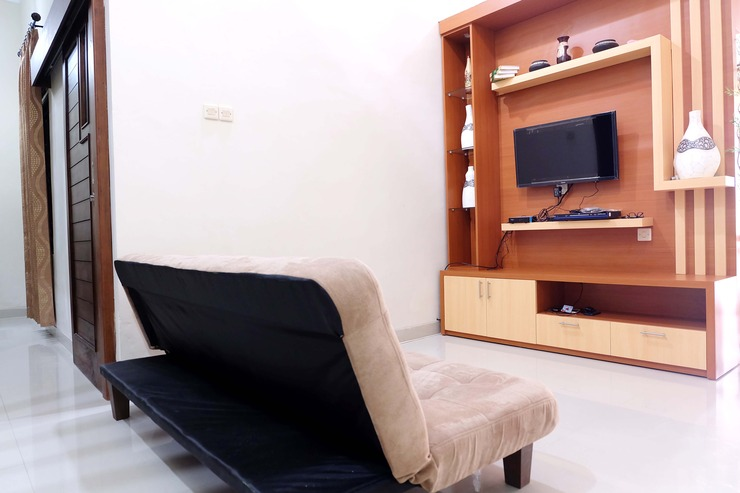 Simply Homy Guest House UTY Jalan Kabupaten Yogyakarta - Ruang tamu