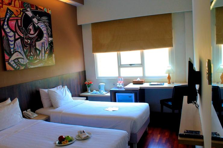 Kyriad Arra Hotel Cepu - Deluxe Twin