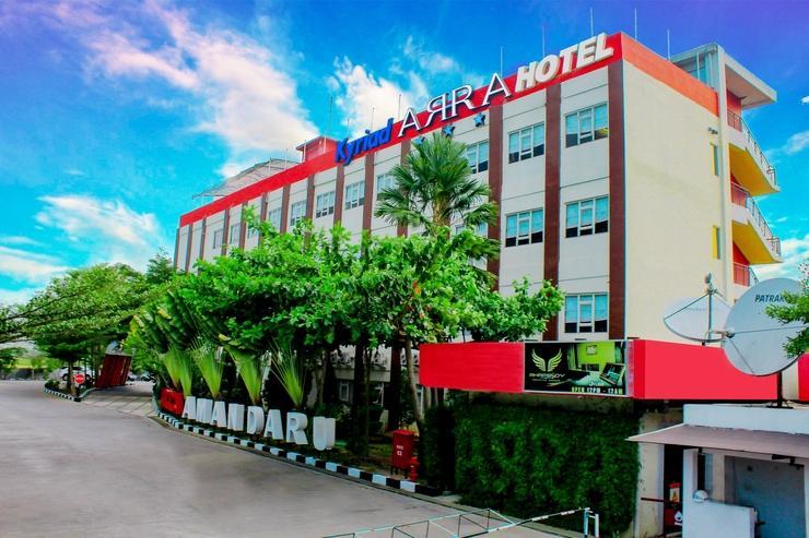 Kyriad Arra Hotel Cepu - Building