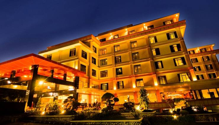 Sari Ater Kamboti Hotel & Convention Bandung - Tampilan Luar