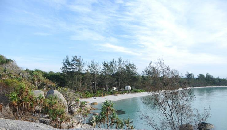 Arumdalu Private Resort Belitung - Pantai