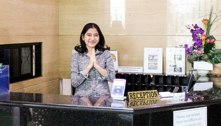 Kyo Serviced Apartment Jakarta Jakarta - Penerima Tamu
