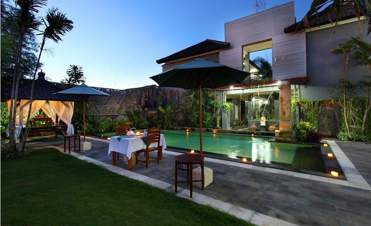 Jimbaran Lestari Hotel   - Pool View