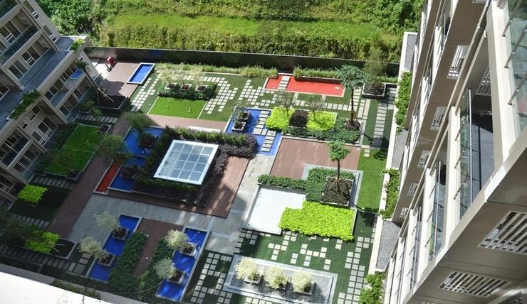 Private Landmark Apartment Bandung - Exterior
