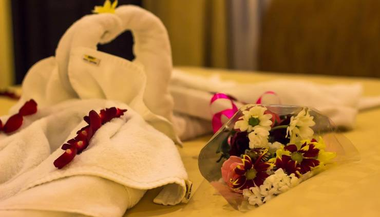 Natya Hotel Tanah Lot - Honeymoon set up