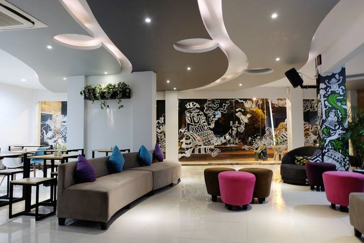Fizz Hotel Lombok Lombok - Lobby Sitting Area