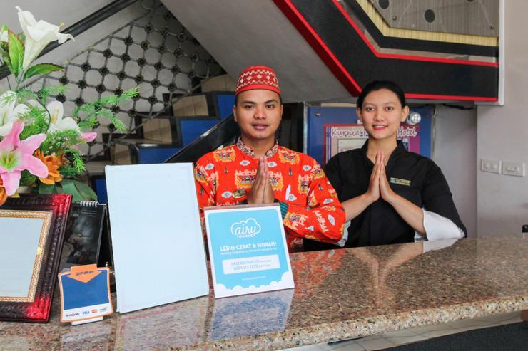 Airy Tanjung Karang Raden Intan 114 Bandar Lampung - Reception