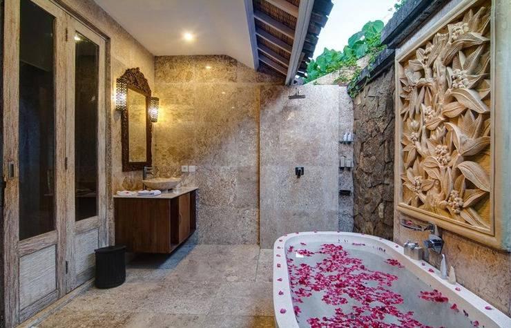 Citrus Tree Villas - La Playa Bali - Kamar mandi