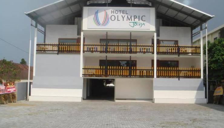 Hotel Olympic Jogja Yogyakarta - Tampilan Luar Hotel