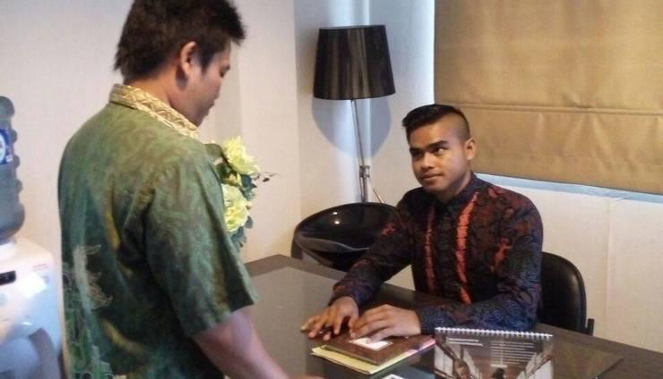 Grha Bintang Guest House Balikpapan - Meja Resepsionis