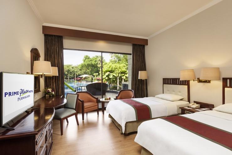 Prime Plaza Hotel Purwakarta - Deluxe Balkon Twin
