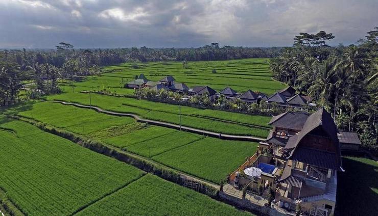 Uma Sari Villa Petulu Ubud (not active) Bali - Exterior