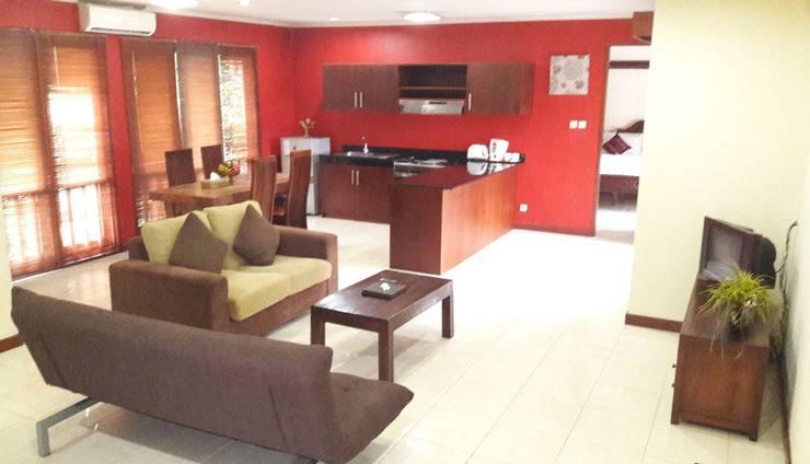 Sekuta Condo Suites Bali - Ruang tamu
