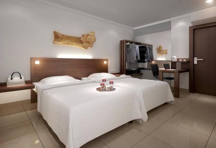 Burza Hotel Lubuk Linggau Lubuklinggau - Kamar tamu