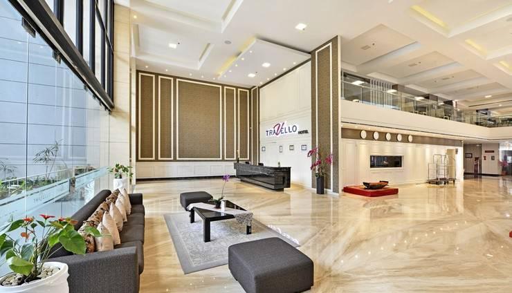 Travello Hotel Bandung -   Lobby Area
