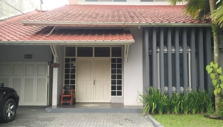 Villa CT 195 Bandung - Front View