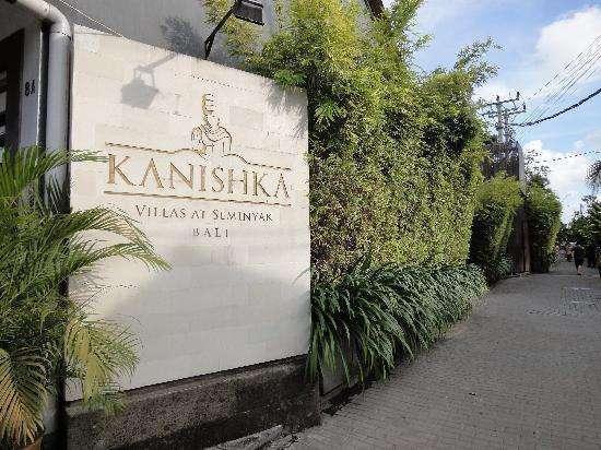 Kanishka Villas Bali - Depan