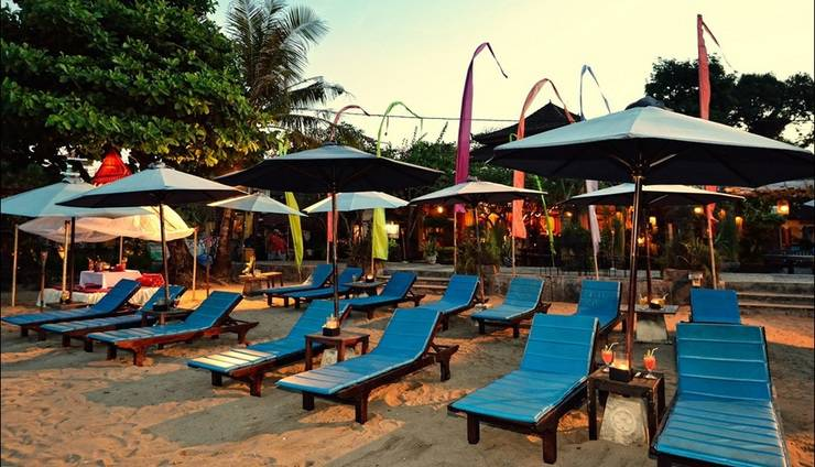 Diwangkara Holiday Villa Beach Resort Bali - Area Pantai