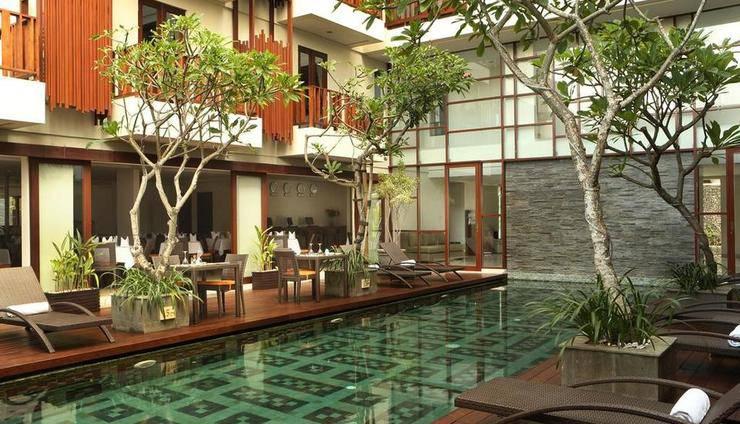 Sense Hotel Seminyak - Kolam Renang baru