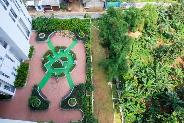 Spacious Studio Akasa Pure Living Apartment BSD By Travelio Tangerang Selatan - Pemandangan sekitar apartemen