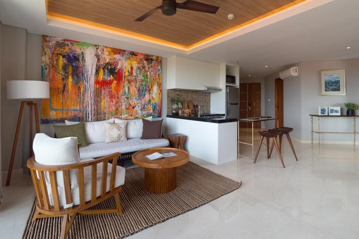 Beachwalk Residence Bali - Living Room