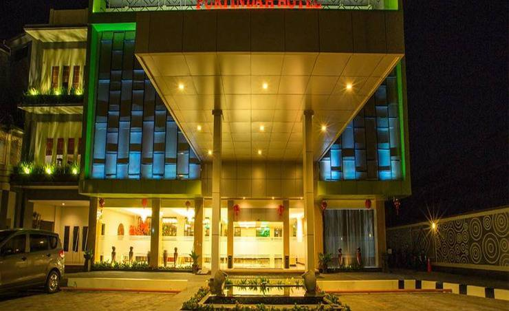 Puri Indah Hotel and Convention Lombok - Tampilan Luar Hotel