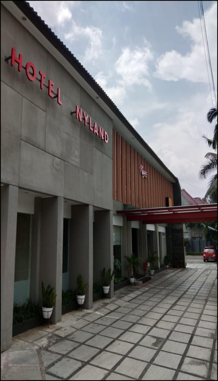 Hotel Nyland 3 Bandung - exterior