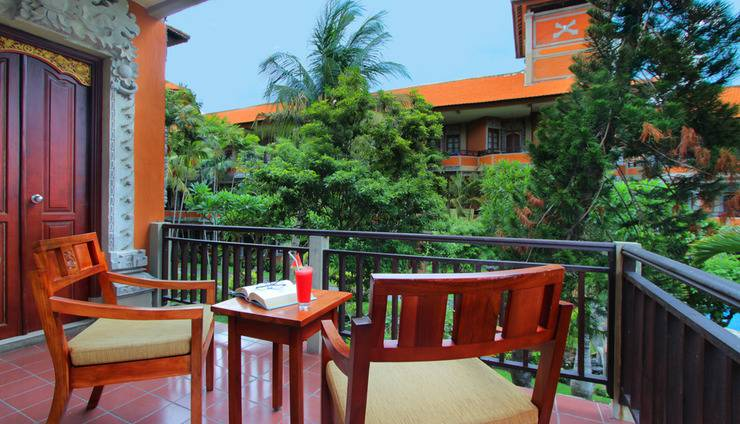 Adi Dharma Hotel Bali - Balkon