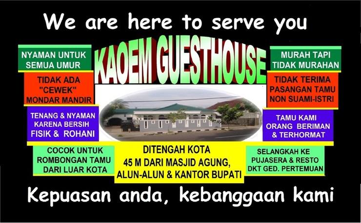Kaoem Guesthouse Cianjur - KEBNGGAAN