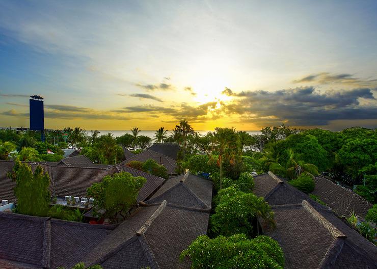 Kuta Seaview Hotel Bali - View