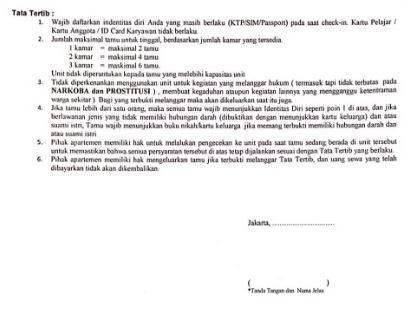 Apartemen Kalibata City By RR Jakarta - Tata tertiba