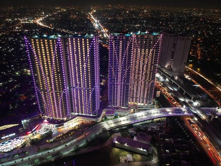 Grand Kamala Lagoon Apartement By Araia Room Bekasi - Pemandangan gedung
