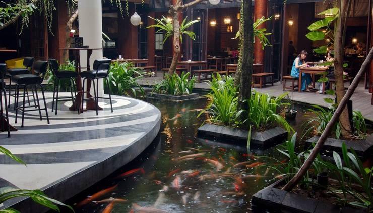 Swiss-Belhotel RainForest Bali - Fish Pond