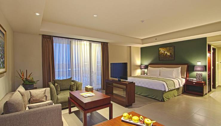 Swiss-Belhotel RainForest Bali - Junior Suite Room