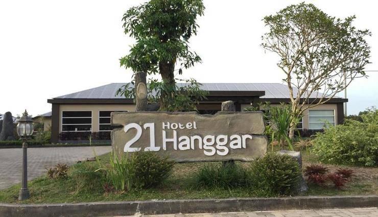 Hotel Hanggar 21 Belitung - Eksterior