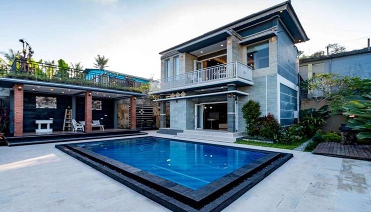 Villa Cetta Bali - Facade