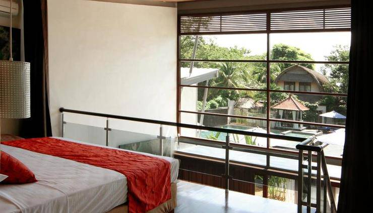 Villa Puri Ayu Bali - Emerald loft suite
