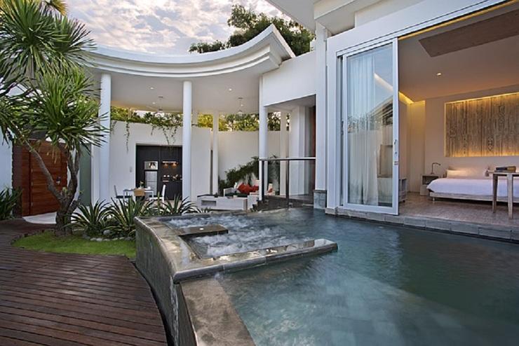 Taman Mesari Luxury Villas Seminyak - Kolam Renang