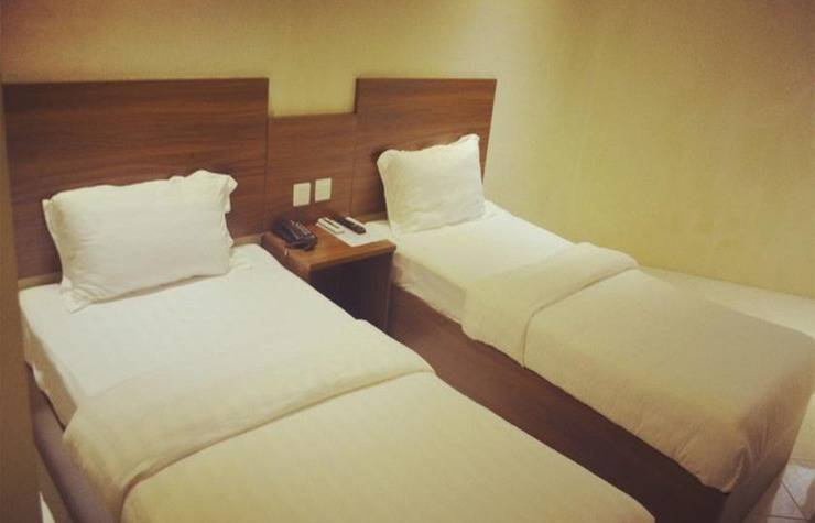 Hotel Mustika Tanah Abang Jakarta - Standard Twin Room, No Windows